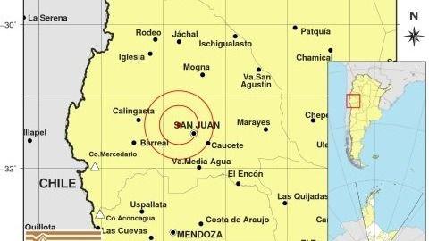 Esta es la imagen del sismo de las 9:59, cuyo epicentro no está cerca del anterior, sino que se encuentra al norte.