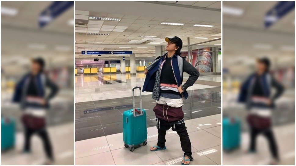 Mire lo que hizo una mujer para no pagar exceso de equipaje