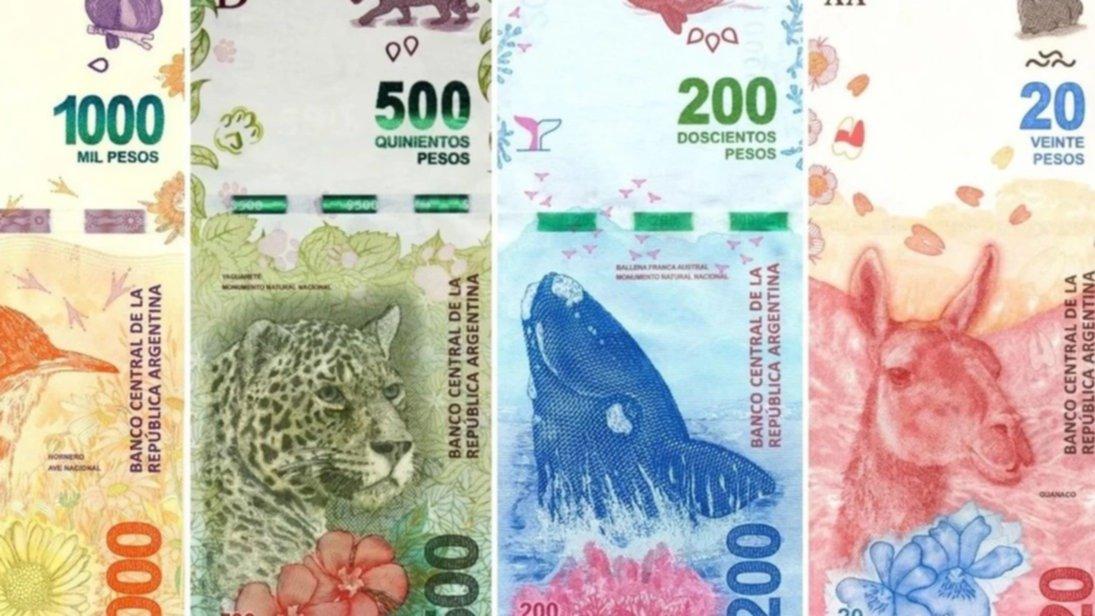 Se vienen los billetes de 2 mil y 5 mil pesos